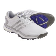 adidas golf AdiPower® Boost Golf Shoes (For Women) in Running White/Silver Metallic/Flash Purple - Closeouts