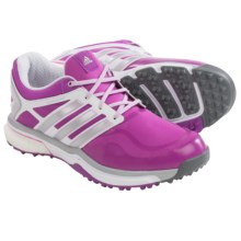 adidas golf AdiPower® Sport Boost Golf Shoes - Waterproof (For Women) in Flash Pink/Silver Metallic - Closeouts
