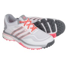 adidas golf AdiPower® Sport Boost Golf Shoes - Waterproof (For Women) in Grey/Flash Red - Closeouts