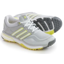 adidas golf AdiPower® Sport Boost Golf Shoes - Waterproof (For Women) in Grey/Yellow - Closeouts