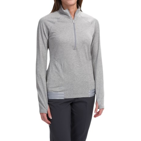 adidas golf Advance Deco Rangewear Jacket Zip Neck (For Women)