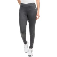 adidas golf Advance Printed Leggings (For Women) in Solid Grey/Black - Closeouts