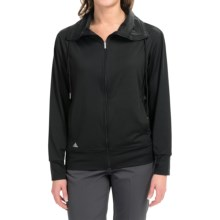 adidas golf Advance Rangewear Jacket (For Women) in Black - Closeouts