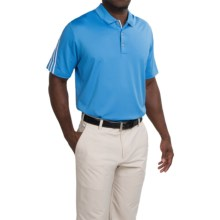 Adidas Golf ClimaCool® Polo Shirt - Short Sleeve (For Men and Big Men) in Lucky Blue/White - Closeouts
