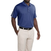 Adidas Golf ClimaCool® Polo Shirt - Short Sleeve (For Men and Big Men) in Midnight Indigo/Vista Grey - Closeouts