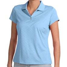 Adidas Golf ClimaCool® Polo Shirt - Short Sleeve (For Women) in Waterfall - Closeouts