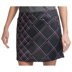 Adidas Golf ClimaCool® Skort - Built-In Shorts (For Women) in Black/Raspberry/Chrome/Bubble