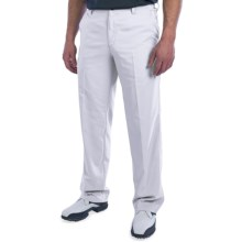 Adidas Golf ClimaLite 3-Stripes Pants (For Men) in White - Closeouts