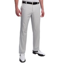 Adidas Golf Climalite Heathered Pants (For Men) in Light Onix/Black - Closeouts