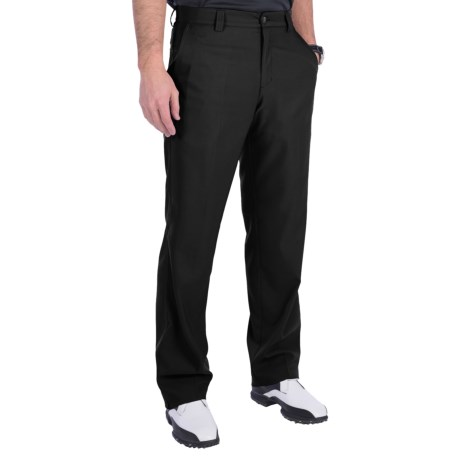 Adidas Golf Climalite® Pants - Flat Front (For Men) in White