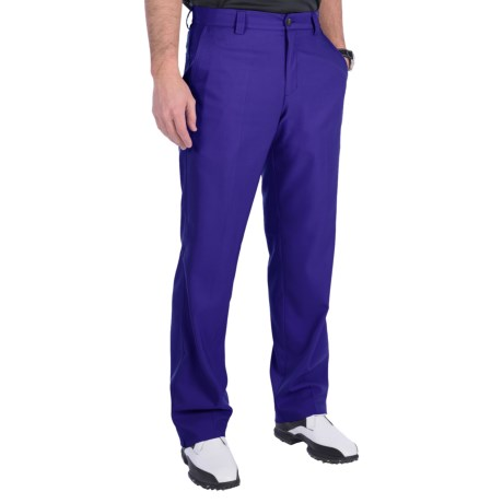 Adidas Golf Climalite® Pants - Flat Front (For Men) in Bluebonnet