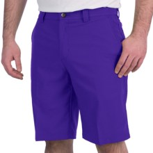 Adidas Golf Climalite® Tech Shorts - Flat Front (For Men) in Bluebonnet - Closeouts