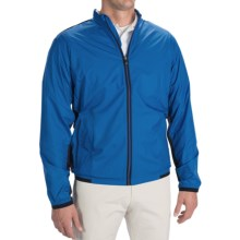 Adidas Golf ClimaProof® Stretch Wind Jacket (For Men) in Ultramarine/Black - Closeouts