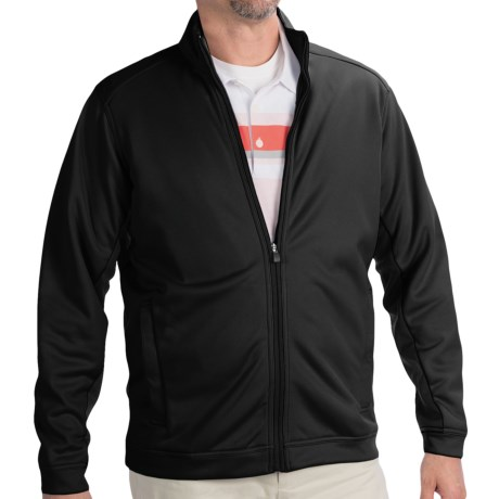 Adidas Golf ClimaWarm® 2-Layer Jacket (For Men) in Chrome/Black