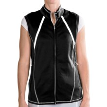Adidas Golf ClimaWarm® Zip Vest (For Women) in Black/White - Closeouts