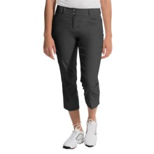 adidas golf Essentials Lightweight Capris (For Women) in Black - Closeouts