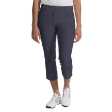 adidas golf Essentials Lightweight Capris (For Women) in Night Navy - Closeouts