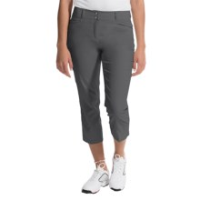adidas golf Essentials Lightweight Capris (For Women) in Solid Grey - Closeouts