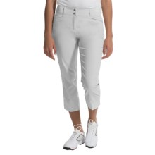 adidas golf Essentials Lightweight Capris (For Women) in White - Closeouts