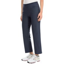 adidas golf Essentials puremotion® Crop Pants (For Women) in Night Navy - Closeouts