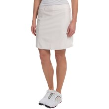 adidas golf Essentials puremotion® Skort - Built-In Shorts (For Women) in Pearl Grey - Closeouts