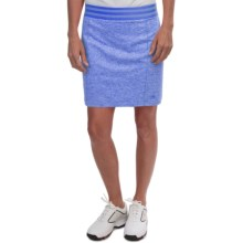 adidas golf Essentials Rangewear Skort (For Women) in Chambray Heather - Closeouts