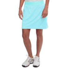 adidas golf Essentials Rangewear Skort (For Women) in Clear Aqua - Closeouts