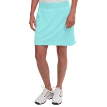 adidas golf Essentials Rangewear Skort (For Women) in Ice Blue Heather - Closeouts