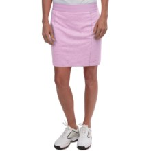 adidas golf Essentials Rangewear Skort (For Women) in Light Orchid Heather - Closeouts