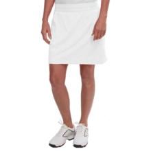 adidas golf Essentials Rangewear Skort (For Women) in White - Closeouts