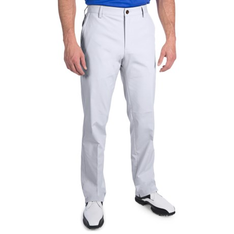 Adidas Golf Fall Weight Pants - Flat Front (For Men) in Chrome