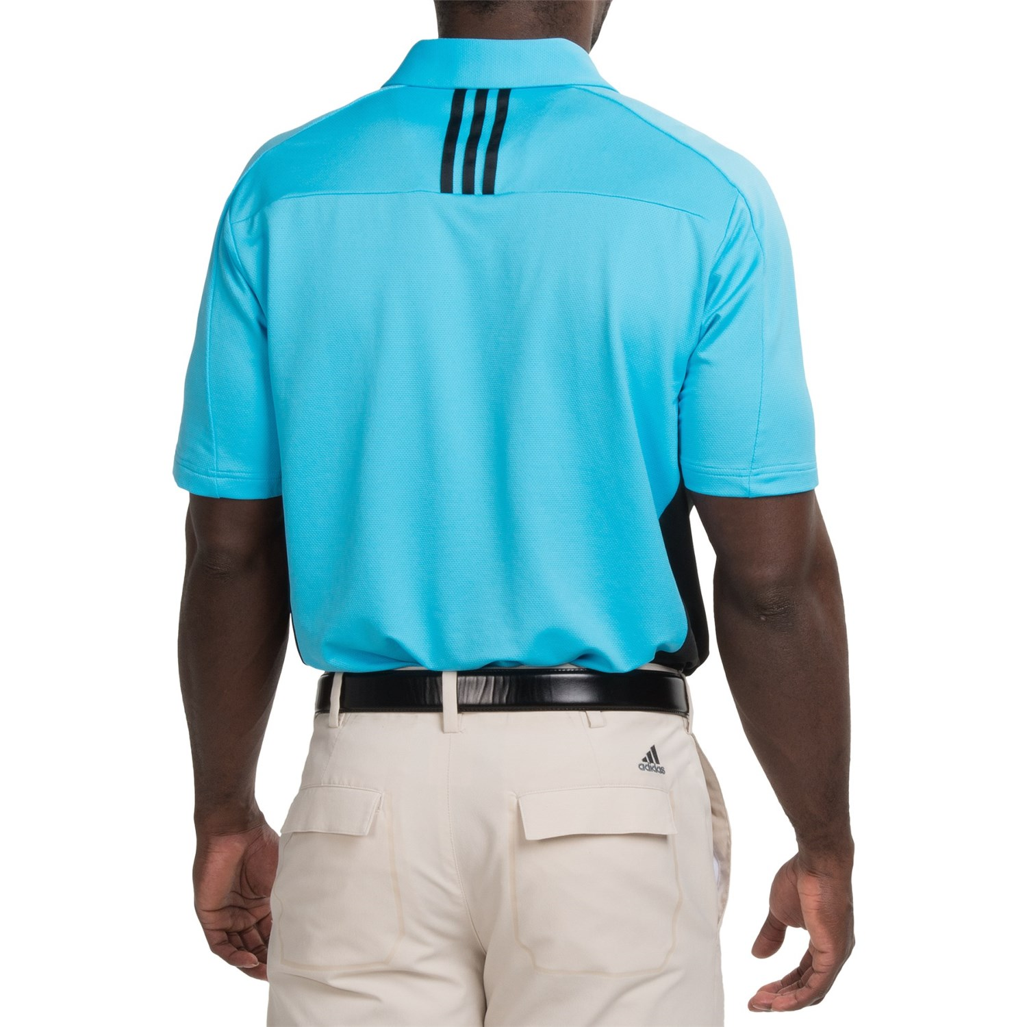 Polo Shirt With Colored Collar