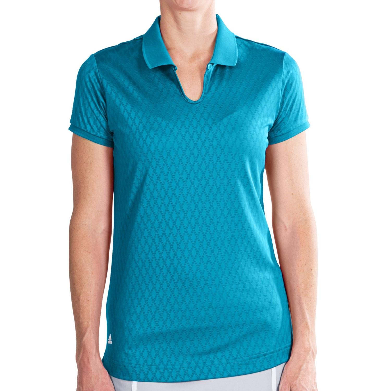 Adidas Golf Puremotion Polo Shirt - CoolMax®, Short Sleeve ...