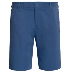 Adidas Golf Shorts - Flat Front (For Men) in Midnight/Lead