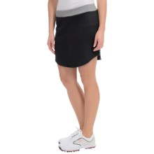 adidas golf Tour Quilted Skort - Liner Shorts Included (For Women) in Black - Closeouts