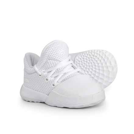 adidas Harden Vol. 1 Basketball Shoes (For Infants and Toddlers) in Footwear White - Closeouts