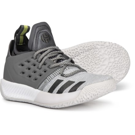 adidas Harden Vol. 2 Basketball Shoes (For Little and Big Boys) in Grey 17cfd633176