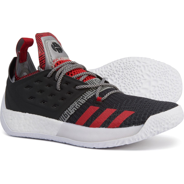 KINDYSCHUHE | Basketball Schuhe Adidas Harden Vol. 2 Weiß Rot