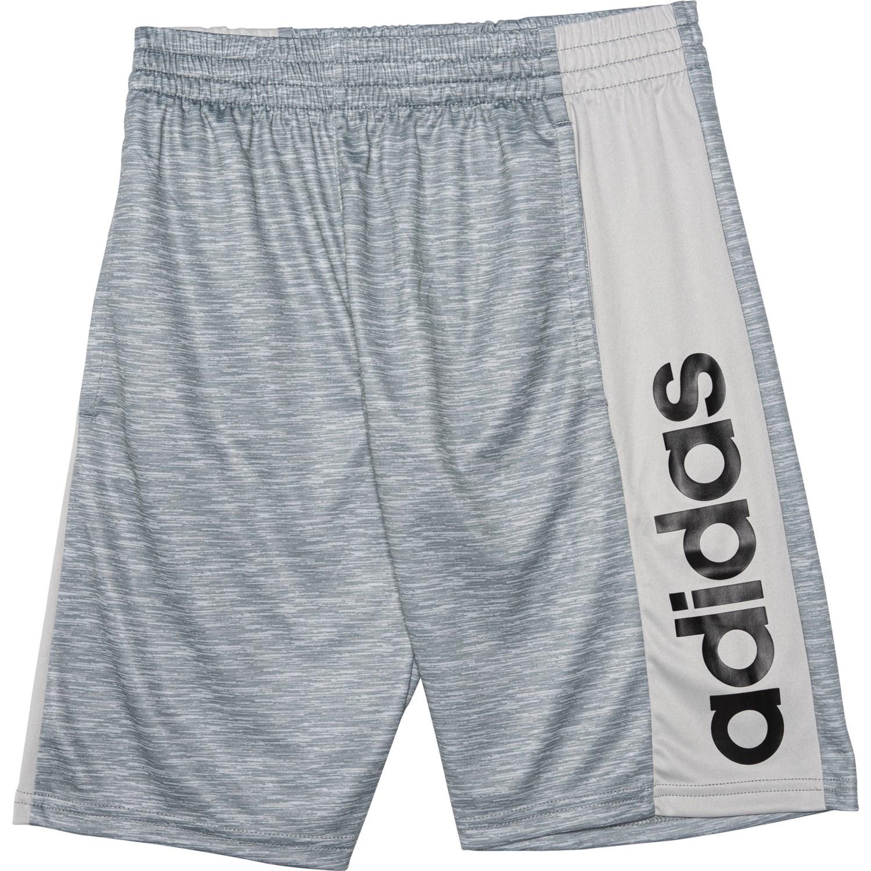 adidas shorts big logo