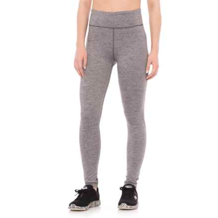 adidas High-Performance ClimaLite® Leggings (For Women) in Grey Five - Closeouts