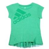 adidas High-Performance Melange Shirt - Short Sleeve (For Toddler Girls)