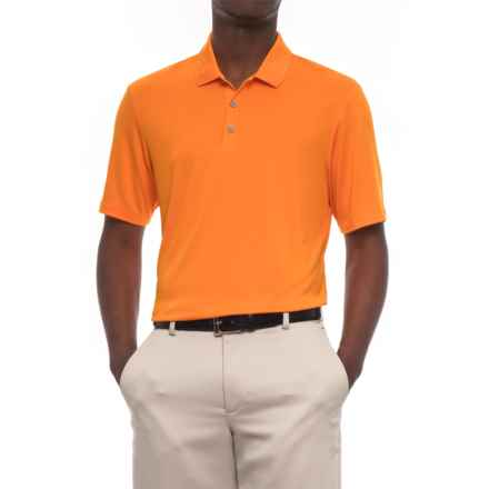 adidas High-Performance Polo Shirt - UPF 30, Short Sleeve (For Men) in Bright Orange - Closeouts