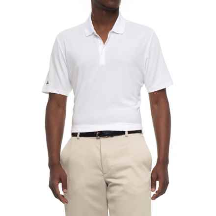 adidas High-Performance Polo Shirt - UPF 30, Short Sleeve (For Men) in White - Closeouts