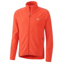 Adidas Hiking Fleece Jacket (For Men) in Hi Res Red - Closeouts