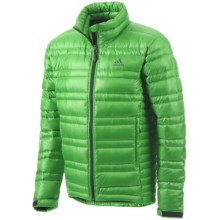Adidas Hiking Light Down Jacket - 700 Fill Power (For Men) in Real Green - Closeouts