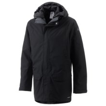 Adidas Hiking Parka Jacket (For Men) in Black - Closeouts