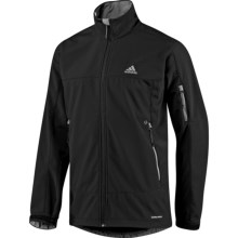 Adidas Hiking Soft Shell Jacket (For Men) in Black - Closeouts