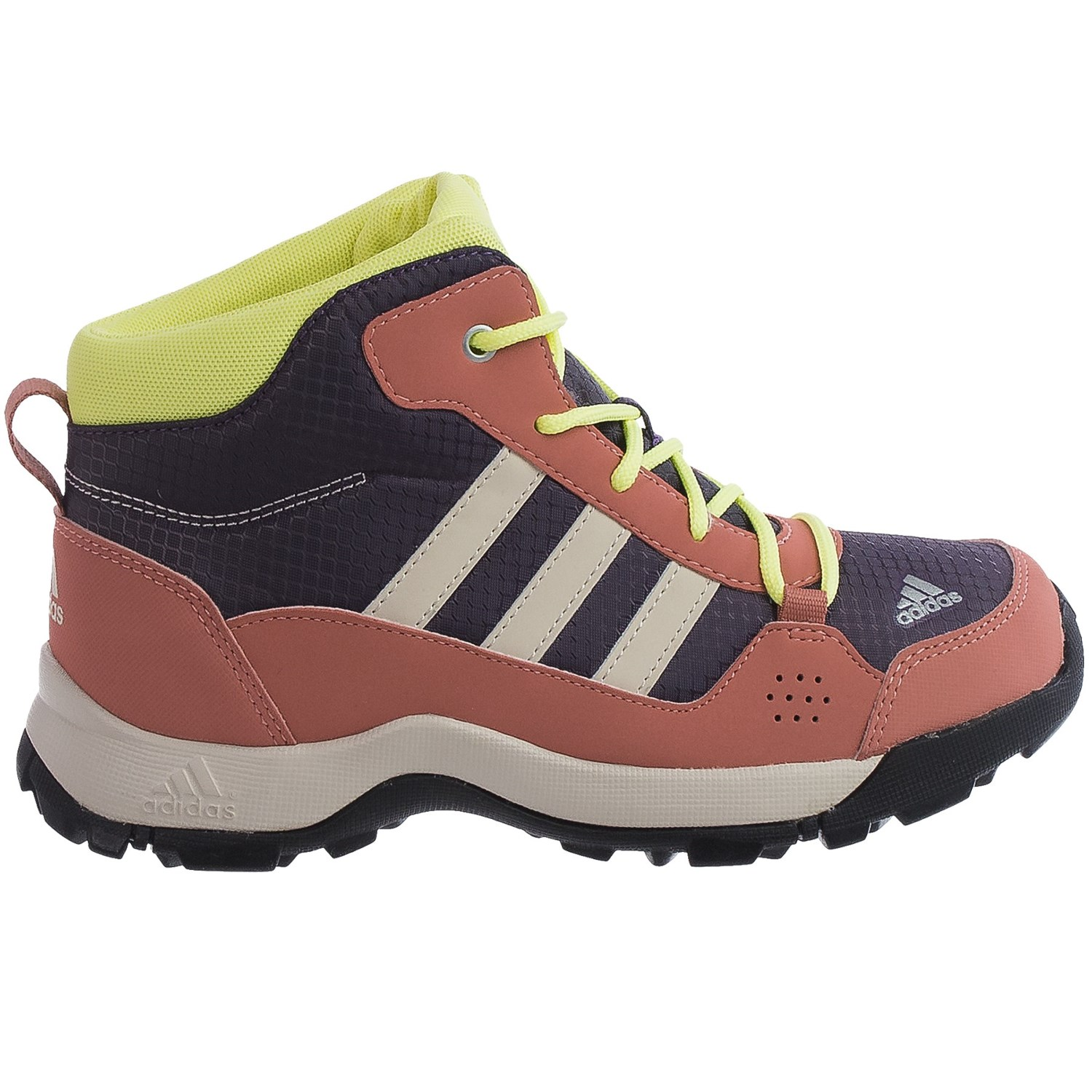 adidas hyperhiker mid trail shoes for little and big kids