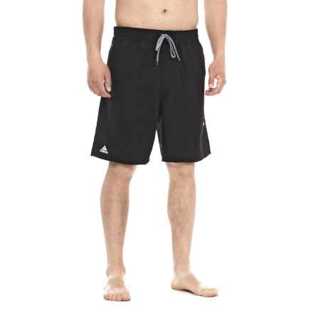 adidas Icon Swim Trunks (For Men) in Black - Closeouts