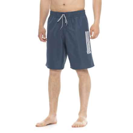 adidas Icon Swim Trunks (For Men) in Nvy Navy - Closeouts